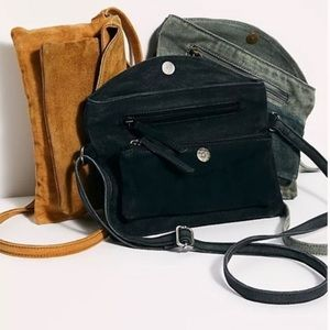 Free People Joni Crossbody Messenger Bag